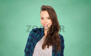 happy smiling student teenage girl