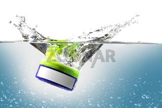 plastic box splash