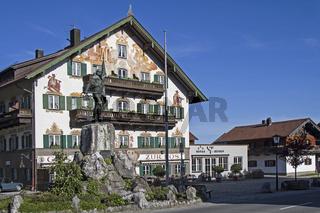Denkmal des Schmieds von Kochel