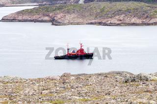 Fjords sea Lapland