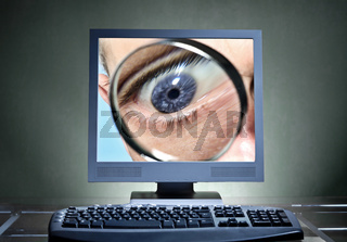 Symbolfoto Digitale Überwachung