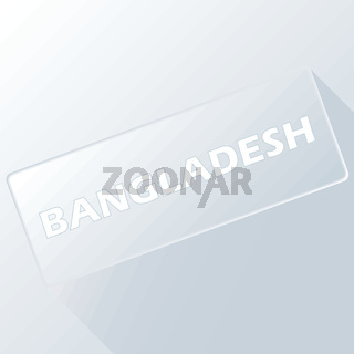 Bangladesh unique button