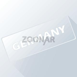 Germany unique button