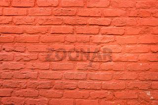 Hintergrund aus einer roten Backsteinwand