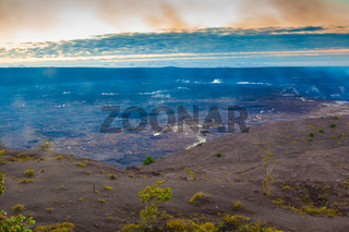 Volcanic steam vents in Hawaii Volcanoes National Park