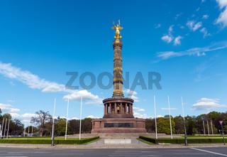 Die Siegessäule im  Tiergarten in Berlin