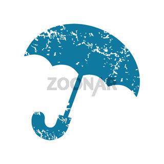 Grunge umbrella icon