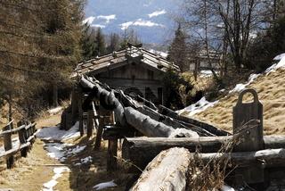 Mühlenweg bei Terento