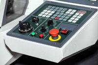 Control panel of CNC machine