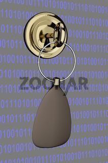 Key in Virtual Wall