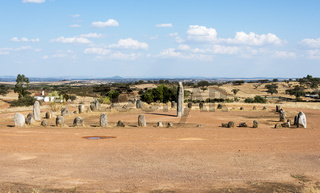 Menhir stones in Portugal