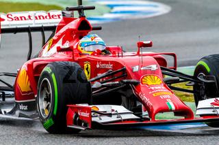 Team Scuderia Ferrari F1, Fernando Alonso, 2014