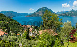Lake Como summer view, Italy