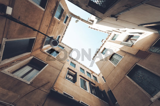 Building abstract background. Residential building.