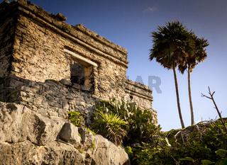 Maya ruins in Tulum, Yucatan, Mexico