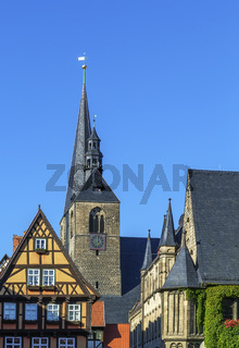 Marktkirche in Quedlinburg, Germany