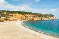The beach Xanemos in Skiathos, Greece