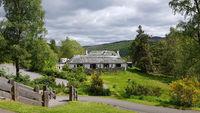Besucherzentrum am Queen's View im Schottischen Hochland