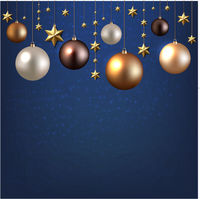 Christmas Garland With Ball And Star