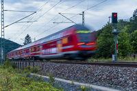 Rote Regionalbahn