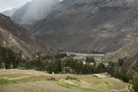 Sacred Valley Surrounded By High Mountains, Peru