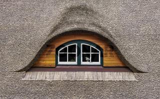 Das Reetdachfenster