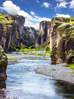 Canyon Icelandic fairy tales
