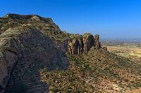 Gheralta Bergmassiv, nördlicher Ausläufer des Grossen Afrikanischen Grabenbruchs, Tigray, Äthiopien
