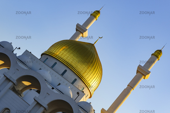 The Nur Astana Mosque, Astana, Kazakhstan