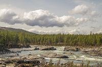 Sjoa- beliebtes Wildwasserrevier in Norwegen