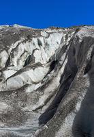 Gletscherspalten, Gornergletscher, Zermatt, Wallis, Schweiz