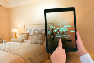 Concept of online hotel booking