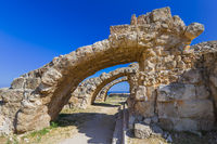 Ruins in Salamis - Famagusta Northern Cyprus