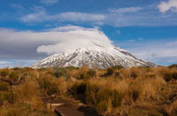 Mount Taranaki, Mount. Egmont National Park, New Zealand
