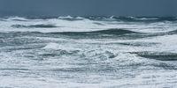 Storm waves in the Atlantic Ocean