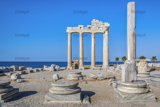 Temple Of Apollo At Side Turkey