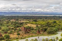 The plain of Bagan (Pagan), Mandalay, Myanmar