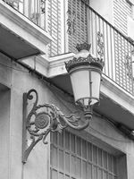 Old street latern in Valencia.