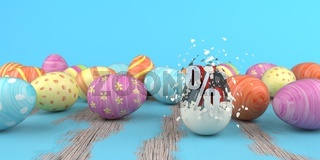 Colored Easter Eggs Discount