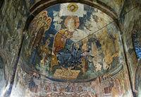Darstellung von Christus Pantokrator, St. Georg Kloster, Ubisa, Imeretien, Georgien