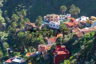 Das Dorf Macayo ist Teil der Gemeine Vallehermoso