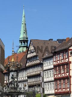 Hannover - Historische Altstadt, Deutschland