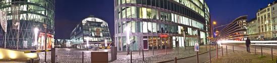 Frankfurt am Main, bei Nacht