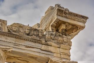 Turkey Side Temple Of Apollo