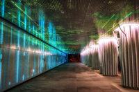 magok naru station tunnel