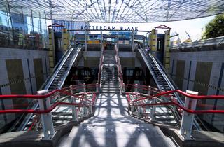 U-Bahn Station Rotterdam