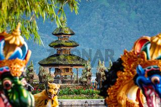 Ulun Danu Beratan temple smallest shrine in Bali