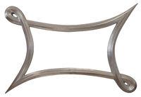 Metallic Mirror Frame Cutout