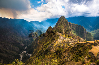 Machu Picchu, UNESCO World Heritage Site.