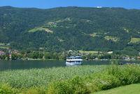 am Ossiacher See in Kaernten,Oesterreich
